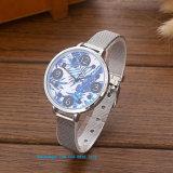 Reloj de las mujeres agraciadas encantadoras del cuarzo con la correa Fs577 del acero inoxidable