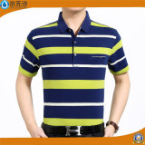 Chemises de polo de piqué de coton de chemises de polo de piste d'hommes de l'usine 2017