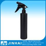 Frasco preto do pulverizador do animal de estimação com o distribuidor preto plástico do líquido do pulverizador do disparador