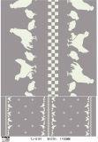 Mantel impreso PVC barato de Disposible de la fábrica de la venta caliente con el forro no tejido