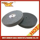 Roue en nylon abrasif Roue à polir non tissée (150X25mm, 7P)