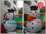 Decorazione esterna 5m H1-101 del pupazzo di neve gonfiabile di natale