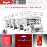 Xyra-850 línea gruesa de alta velocidad impresora del papel 4-Color Flexo