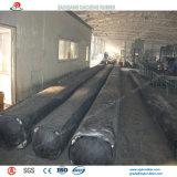 具体的な排水渠を作るために使用される膨脹可能なゴム製エアバッグ