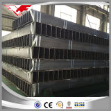 Tuyauterie rectangulaire de pipe rectangulaire de matériau de construction de construction pour le tube de structure