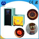 horno de inducción de alta frecuencia 80kw para el oro/el cobre de fusión