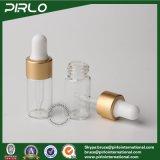 3ml 작은 유리제 점적기는 명확한 정유 점적기 병 OEM 병을 병에 넣는다