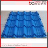 Colorear la hoja de acero del material para techos acanalado para el material de construcción