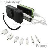 Kingmaster 8400mAh 고용량 빠른 책임 힘 은행 휴대용 배터리 충전기
