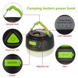 Form-Art-veränderbarer Haken-Entwurfs-kampierende Laterne-Energien-Bank C5 für kampierendes Gerät