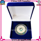 Moneta di oro annunciata del metallo per il regalo della moneta di sfida