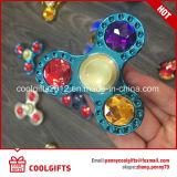 반대로 긴장 장난감 금속 손 방적공 다이아몬드 EDC 싱숭생숭함 방적공