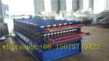 Rodillo de acero de la hoja del material para techos de Ibr de tres capas que forma la máquina