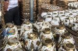 Macchina di titanio di doratura elettrolitica degli articoli per la tavola di ceramica, macchina di rivestimento di titanio