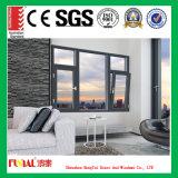 Doppelverglasung-Aluminiumfenster mit Aluminiummoskitobildschirm