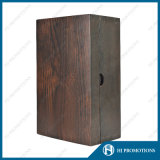 アルコール飲料のびん(HJPWSB01)のためのカスタマイズされた優秀な木箱