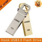 OEMのカスタムロゴの金属のホックUSB3.0のメモリ棒(YT-3258-03)