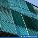 Schieben des mit Luftschlitzenblendenverschlusses, der Aluminiumsun-Luftschlitz schiebt