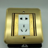 zoccolo di potere elettrico del pavimento di formato 120*120mm del comitato 250V/10A