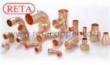Kupferner passender kupferner Umkehrbogen-und Kupfer-Krümmer