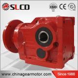 Fabricante profesional de cajas de engranajes combinadas cartabón helicoidal de la serie del kc para la máquina