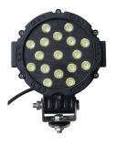 防水クリー族の長方形51W LEDのトラクター作業ライト