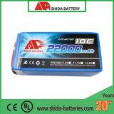 Bateria agricultural do Uav do polímero do lítio da alta qualidade 22000mAh 22.2V