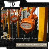 Het Hijstoestel van de Ketting van Toyo van het Blok van de Katrol van de ketting 1ton voor het Opheffen van de Bouw
