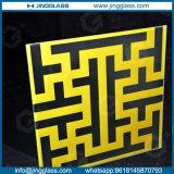 Низкая стоимость стекла фритты печатание цифров цвета изготовленный на заказ искусствоа декоративная запятнанная керамическая