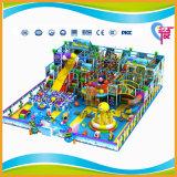 Grande campo de jogos macio comercial com o navio de Priate aos miúdos (A-15224)