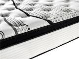 乳液が付いている高品質の枕上層のポケットスプリング入りマットレス