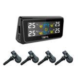 Het ControleSysteem van de Druk van de Band van de auto met het Zonne Leveren van de Macht en Externe Sensor 4