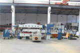 Volles automatisches hydraulisches Übergangsheiße stempelnde Folien-Maschine für Belüftung-Panel