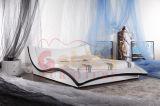 بلوط [سليد ووود] مع جلد [سلي بد] أثاث لازم الصين [غ934]
