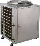 Agua caliente hasta pompa de calor aire-agua del acero inoxidable de 60 grados la mini