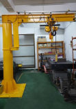 3 Ton Pillar Type Jib Crane com 180/270/360 Degree Rotation