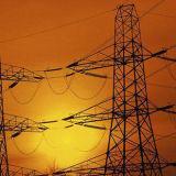 Башня электрических и передачи 110kv силы стали