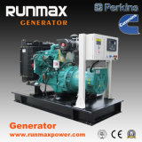 80kw / 100kVA Cummins generador de energía diesel Soundproof generador / generador (RM80C2)