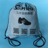 Подгонянный напечатанный Backpack ботинка полиэфира Drawstring спортов