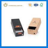 Rectángulo de zapatos de empaquetado de papel modificado para requisitos particulares alta calidad del rectángulo (con la impresión en color)