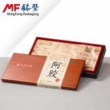 Contenitore di regalo di legno di prima scelta di lusso del pacchetto delle derrate alimentari