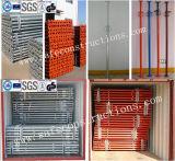 構築の安全な耐久の足場の支注の支柱
