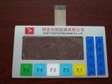 Кнопочная панель переключателя мембраны экрана касания OEM тактильная водоустойчивая с ясным окном