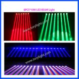 LED Beam 8PCS * 10W RGBW Luz