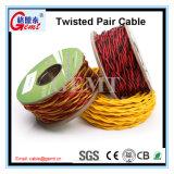 Cabo por atacado do twisted pair do cabo elétrico para a luz