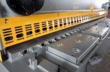 QC11K 유압 CNC 단두대 깎는 절단기