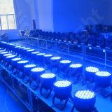 120X3W DMX Professional PAR pode RGBW luzes do palco LED