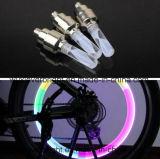 LED 다색 바퀴 벨브 모자 빛