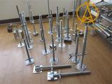 Основание винта Jack шарнирного соединения регулируемое для конструкции