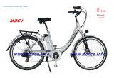 Garanzia elettrica a basso rumore eccellente di Ebicycle della città della bici certificata En15194 del Ce dell'onda di seno M261 2 anni